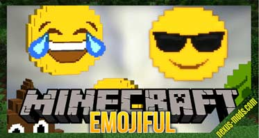 Emojiful Mod 1.16.5/1.16.3/1.12.2