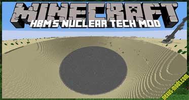 Hbm's Nuclear Tech Mod 1.7.10