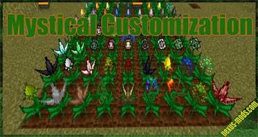Mystical Customization Mod 1.16.5/1.16.3/1.15.2