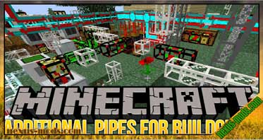 Additional Pipes for Buildcraft Mod 1.8.9/1.7.10