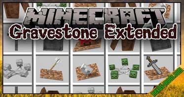 Gravestone mod – Extended Mod 1.12.2/1.11.2/1.10.2