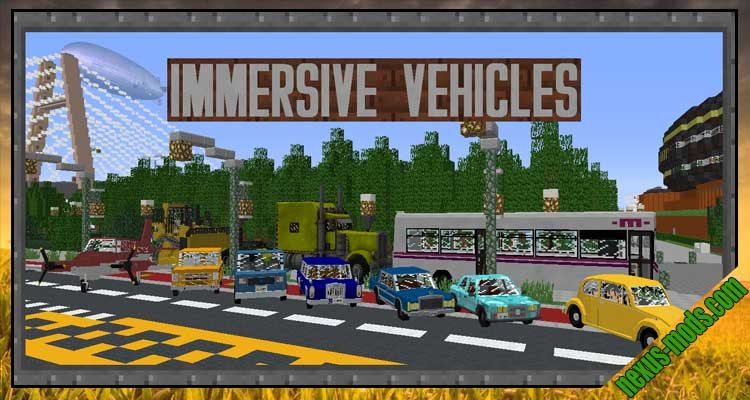 Immersive Vehicles Trin Part Pack