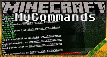 MyCommands Mod 1.16.1/1.15.2/1.12.2