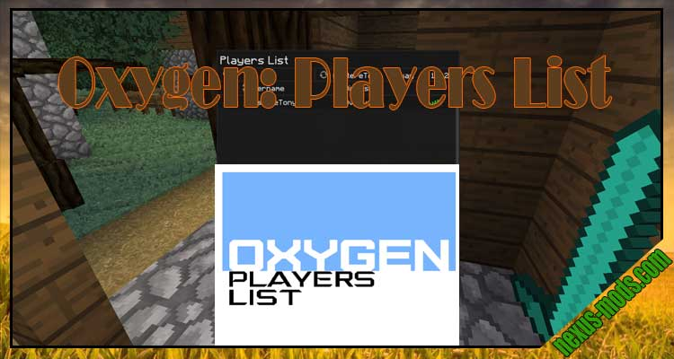 Oxygen: Players List