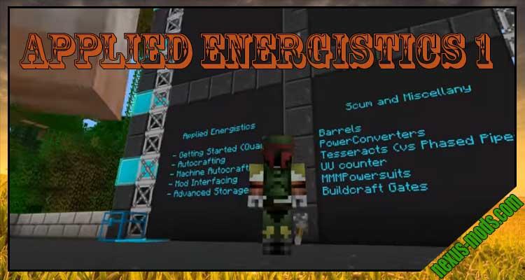 Applied Energistics 1