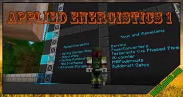 Applied Energistics 1 Mod 1.6.4/1.5.2/1.4.7