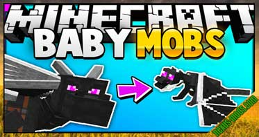 Baby Mobs Mod 1.12.2/1.11.2/1.10.2