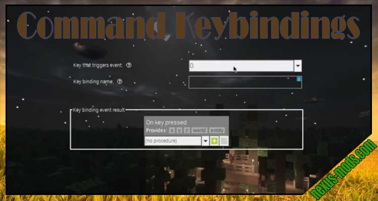 Command Keybindings
