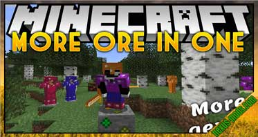More Ores In ONE Mod 1.16.4/1.15.2/1.14.4