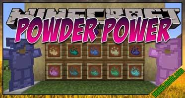 Powder Power [FORGE] Mod 1.16.4/1.15.2/1.14.4