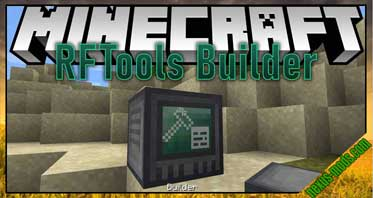 RFTools Builder Mod 1.16.4/1.15.2/1.14.4