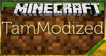 TamModized Mod 1.12.2/1.11.2/1.10.2