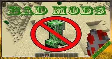 Bad Mobs Mod 1.16.5/1.15.2/1.12.2