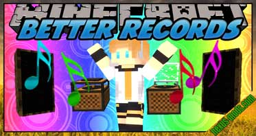 Better Records Mod 1.12.2/1.9.4/1.8.9