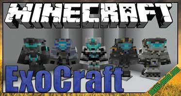EXO-Craft Mod 1.12.2