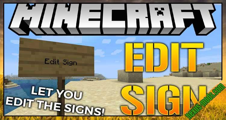 Edit Sign