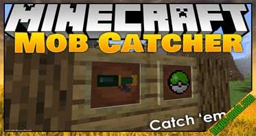 Mob Catcher Mod 1.16.5/1.15.2/1.14.4