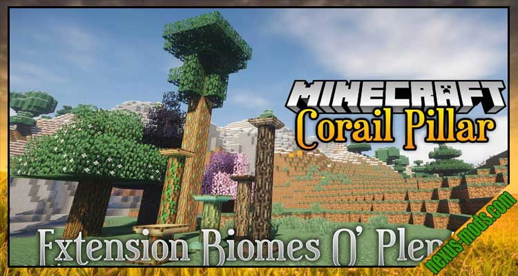 Corail Pillar - Extension Biomes O'Plenty