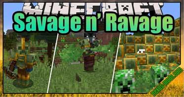 Savage & Ravage Mod 1.16.5/1.15.2