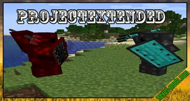 ProjectExtended Mod 1.16.5/1.15.2/1.14.4