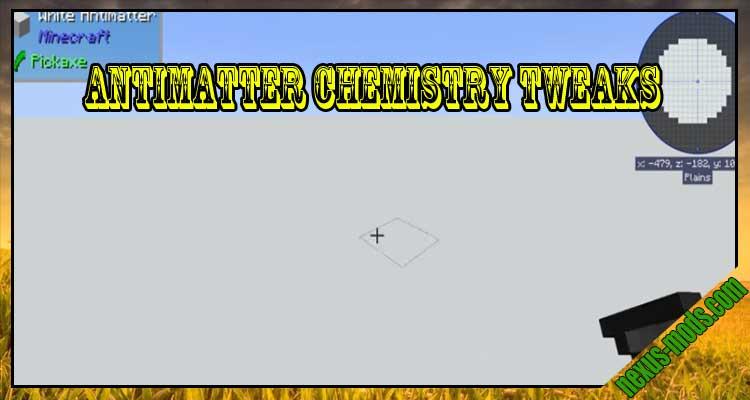 Antimatter Chemistry Tweaks