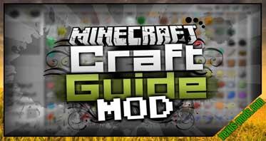CraftGuide Mod 1.10.2/1.9.4/1.7.10
